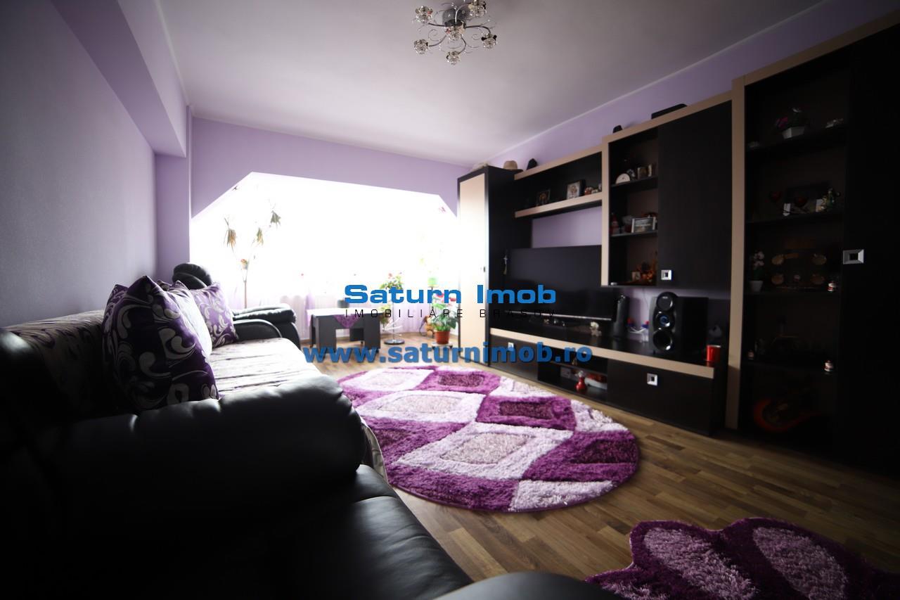 Vanzare  Apartament 3 camere mobilat si utilat   decomandat zona Tractorul