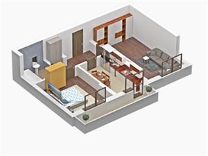 Apartament 2 camere nou Unirii