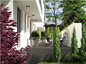 Baneasa Apartament 3 camere cu curte si miros de padure