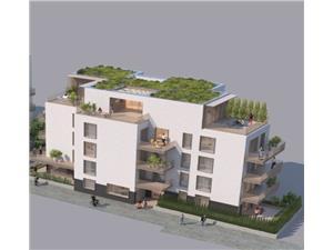 Apartament 3 camere terasa 38mp Stefan cel Mare