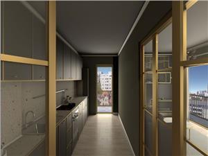 Apartament nou 3 camere Stefan cel Mare